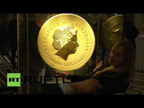 Austria: One-tonne gold Aussie dollar coin on Euro tour