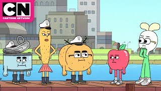Crescent Moon Whale | Apple & Onion | Cartoon Network