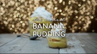 Banana Pudding Recipe Video by Broke and Cooking