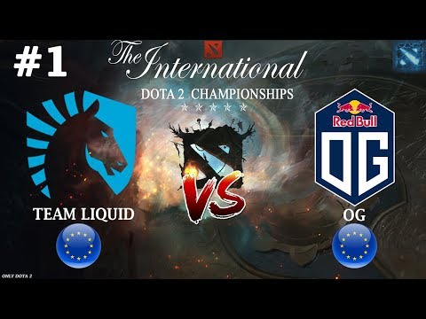 видео: Мираклу отдали ИНВОКЕРА! | liquid vs og #1 (bo2) | the international 2018