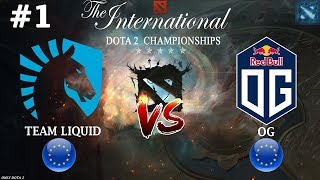 Download Video Мираклу отдали ИНВОКЕРА! | Liquid vs OG #1 (BO2) | The International 2018 MP3 3GP MP4