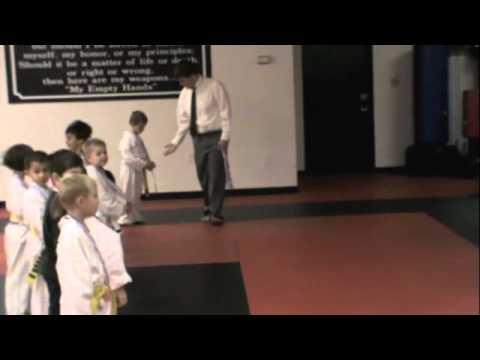 Xavier in Ingram's Dojo Championships