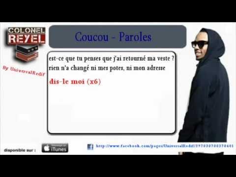 Coucou - Colonel Reyel [Paroles Officiel]