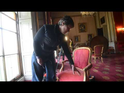 Textile Conservation Work At Attingham Park