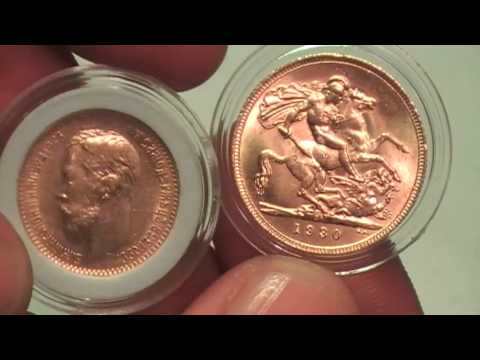 Gold Sovereign Соверен Георг 5
