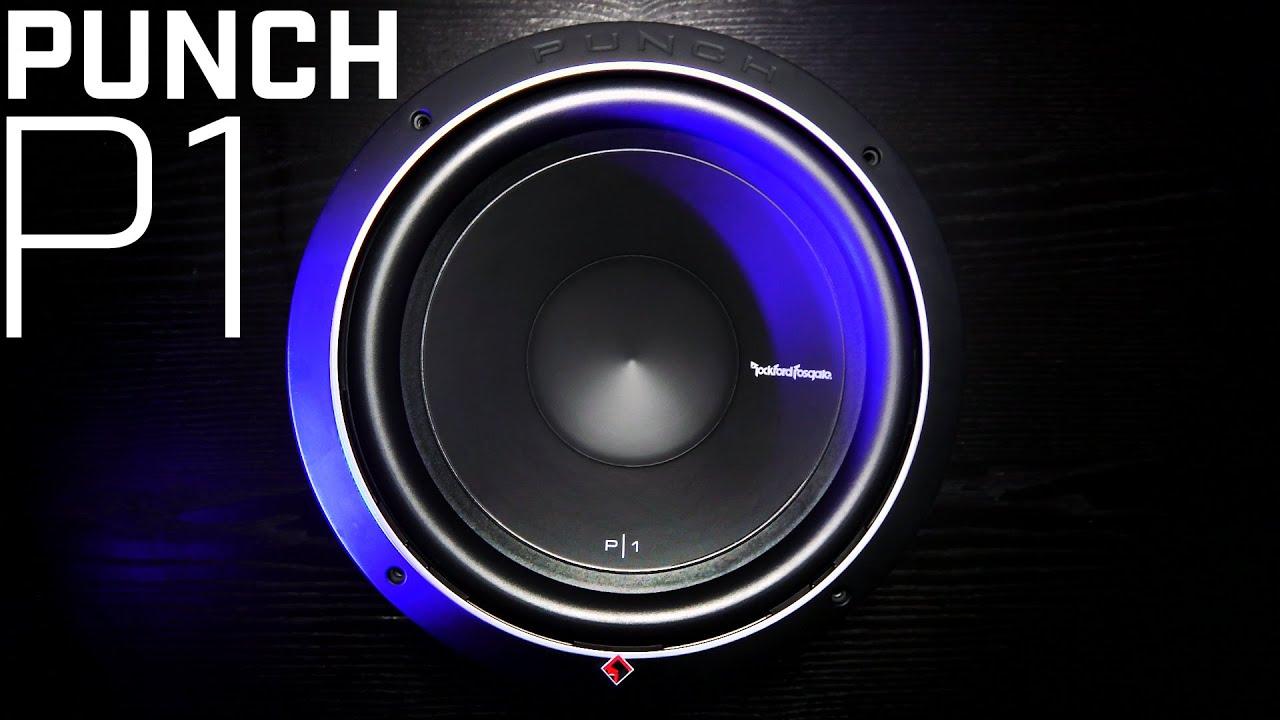 rockford fosgate punch p1 subwoofer 2016 review youtube. Black Bedroom Furniture Sets. Home Design Ideas