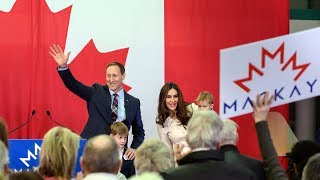 Peter MacKay officially announces Conservative leadership run