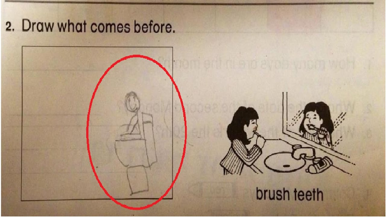 20 test answers that are so funny most hilarious test answers