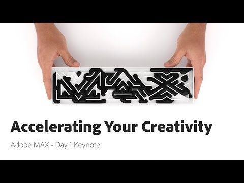 Accelerating Your Creativity - Adobe MAX 2017 - Day 1 Keynote