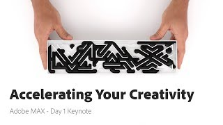Accelerating Your Creativity - Adobe MAX 2017 - Day 1 Keynote