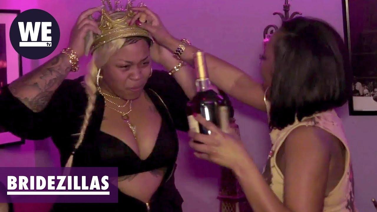 The Bride Crashes the Bachelor Party | Bridezillas | WE tv