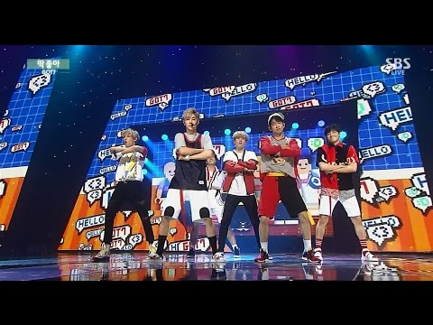 "GOT7 ""딱 좋아(Just Right)"" Stage @ SBS Inkigayo 2015.07.26"