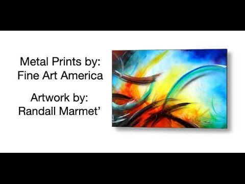 Metal Prints by Randall Marmet and Fine Art America - YouTube