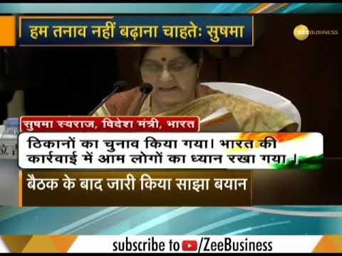Sushma Swaraj briefs China on Balakot air strikes, says India does not want 'escalation'