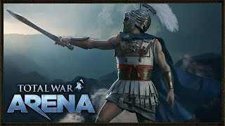 Alexander the Great Cavalry Charge - Arena Total War Closed Beta Gameplay