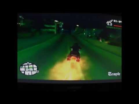 Gta San Andreas Como Tener La Moto Del Vengador Fantasma