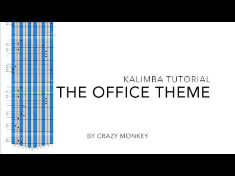 The Office Theme Song (Kalimba Tutorial) [Download Sheet ...