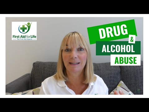 Drug and Alcohol Abuse First Aid | Mental Health