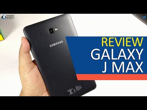 Samsung Galaxy J Max Full Review - 4G, VoLTE Voice Calling Tablet