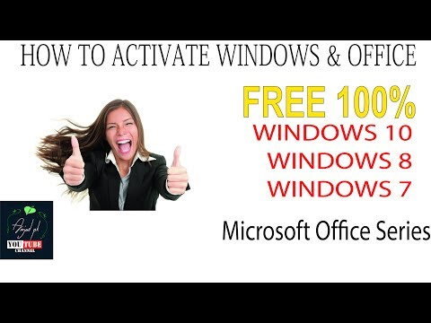 Activate Windows with KMS Pico - Urdu/Hindi 2017