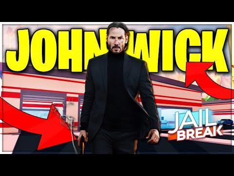 PLAYING AS JOHN WICK IN JAILBREAK ROBLOX (ROBLOX)