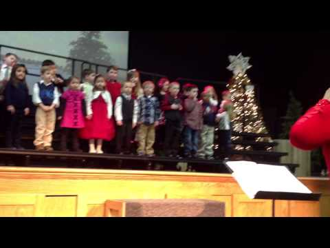 Caity OBrien Christmas Program Trinity Christian Preschool 2013 Part 2