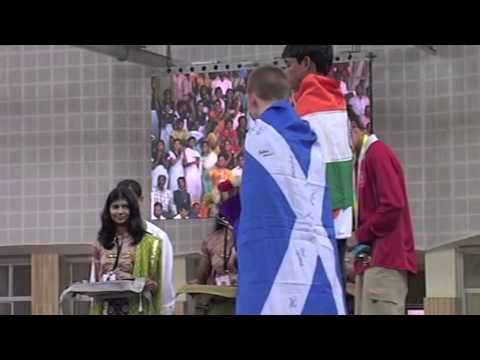 2008 Commonwealth Youth Games: 50 kg Medal Ceremony
