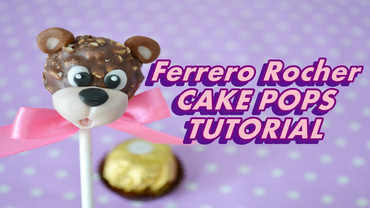 How To Make Ferrero Rocher Cake Pops