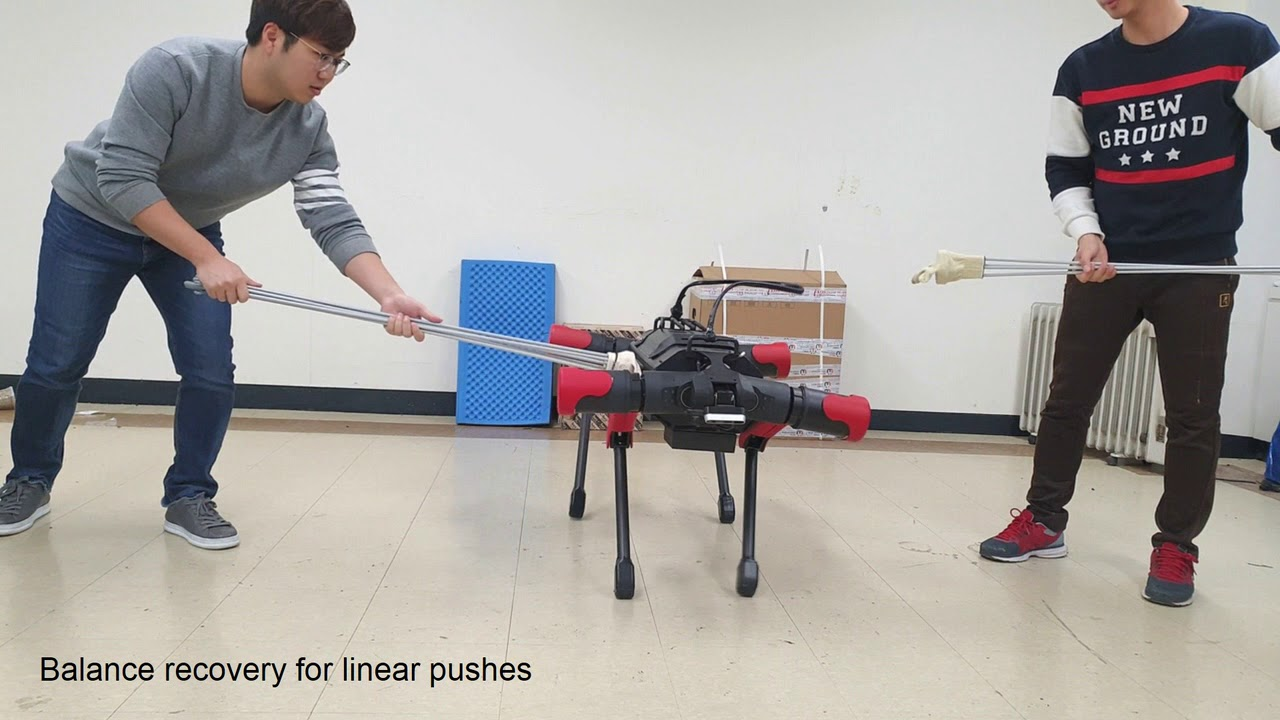 Balance Recovery based on Whole-Body Control using Joint Torque Feedback for Quadrupedal Robots