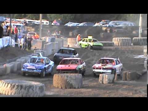 Bump And Run Racing!! Alpena County Fair 2014!! Dirt Track Rippers!!