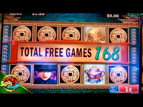 China Mystery 2 Bonuses !!! Konami 1c Video Slot in San Manuel Casino