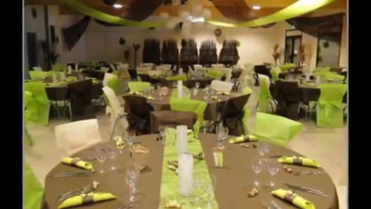 decoration salle mariage  Photo decoration salle mariage luxe  YouTube