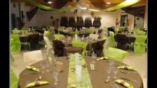 decoration salle mariage - Photo decoration salle mariage luxe