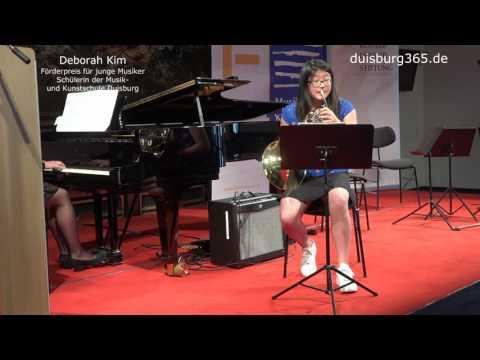 Foerderpreis der Koehler Osbahr Stiftung 2016   Deborah Kim   MKS Duisburg