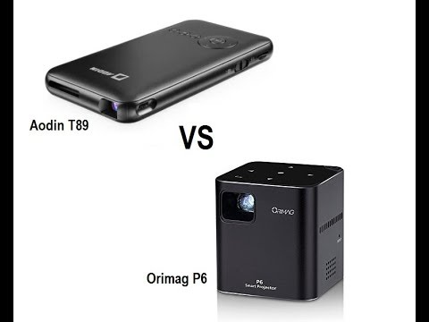 orimag p6 projector versus aodin t89 android projector comparison 2 youtube orimag p6 projector versus aodin t89 android projector comparison 2
