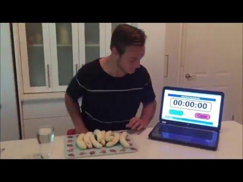 1 Kg Banana Challenge VS Nela Zisser Collab