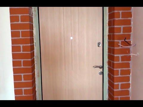 #RR# Ремонт, отделка, штукатурка - устройство портала входной двери