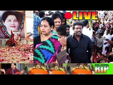 Amma Jayalalithaa's Memorial Meet Live Updates At Marina| CR Saraswathi | Karunas