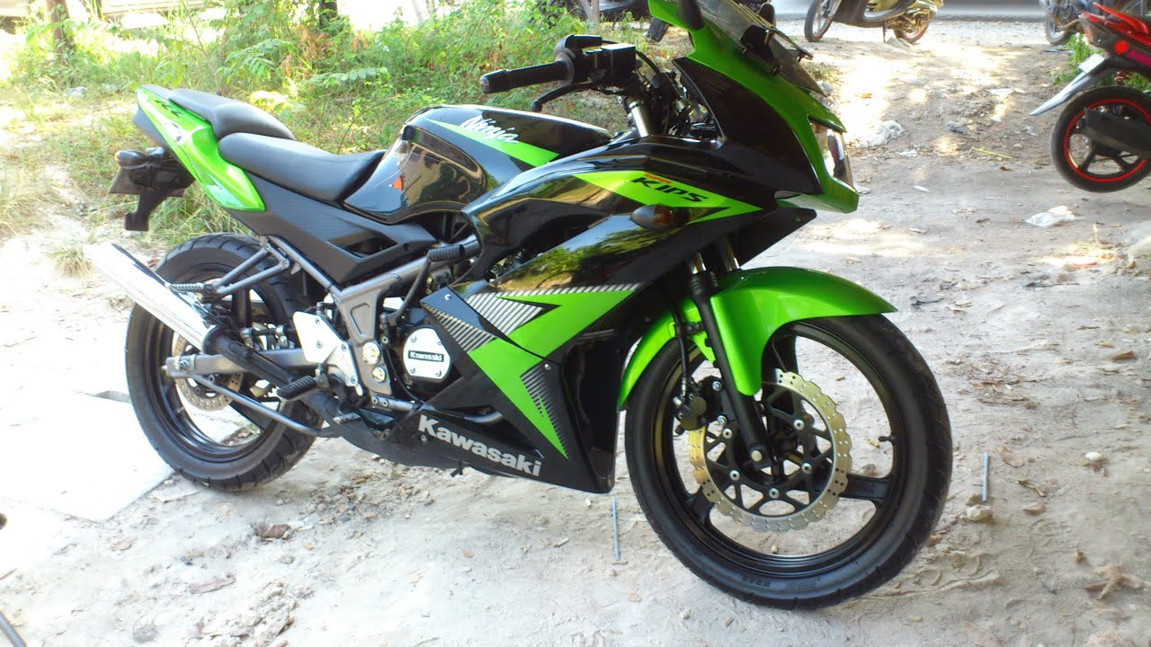 Kawasaki Ninja Rr Super Kips Green 150cc 6 Speed