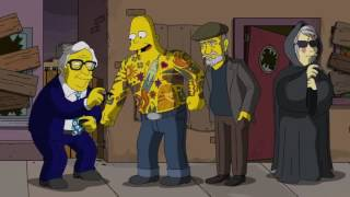 The Simpsons Tribute to Fantasy, Sci-Fi and Horror Literature and Motion Pictures