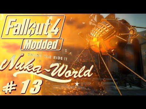 Fallout 4 Nuka World modded #13 The Galactic zone