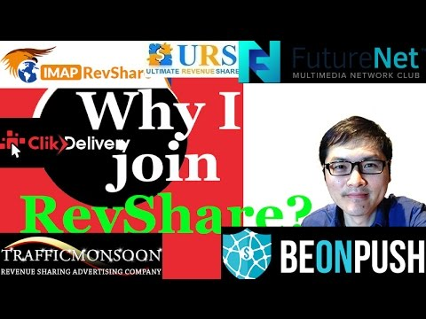 Why I join RevShare?