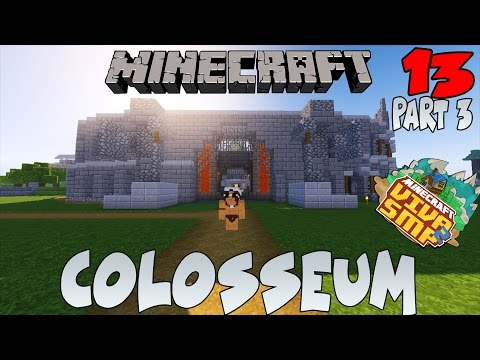 FINISHING COLOSSEUM ! - Minecraft Survival Indonesia: VIVA SMP #13 part 3