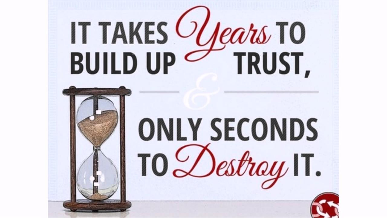 Broken Trust Quotes And Sayings: Broken Trust Quotes