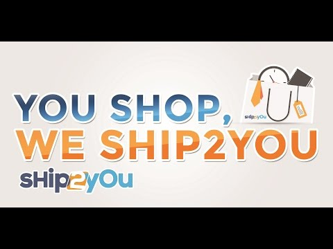 Shop and Ship with Ship2You