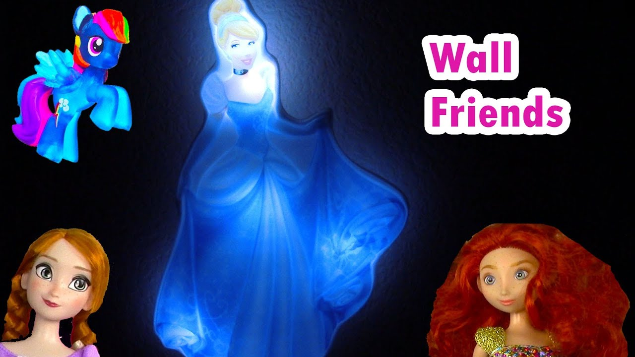 Disney Princess Cinderella Light Up Glowing Glow In The