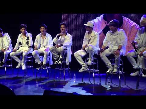 150508 GOT7 First Fanmeeting in Chicago FULL fancam front row