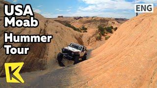 【K】USA Travel-Moab[미국 여행-모아브]모래바위를 달리는 4륜구동 투어/Hummer Tour/Utah/Rock/Leports/Slickrock