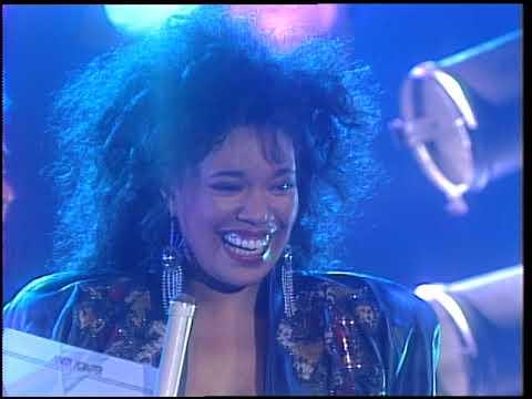 American Bandstand 1987- Interview Anita Pointer