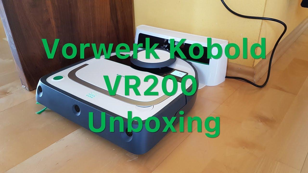 Vorwerk Kobold VR200  Unboxing  YouTube